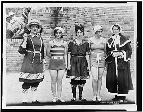 Photo: Bathing Suits,Claire Hooten,Frankie Overstreet,Ruth Harrell,Betty Shore,Kane