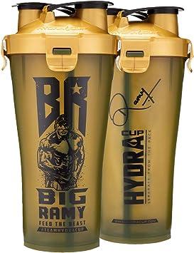 Big Ramy Dual Shaker – Botella doble de alto rendimiento de ...