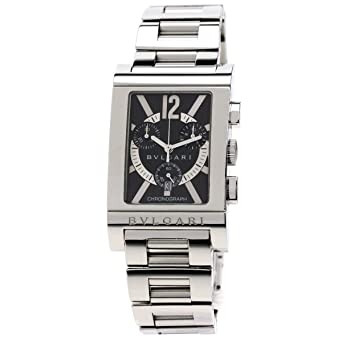 new arrival 41b45 8a27d Amazon | [ブルガリ]レッタンゴロ 腕時計 ステンレススチール/SS ...