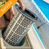 Swimming Pool Filter Cartridge Replacement