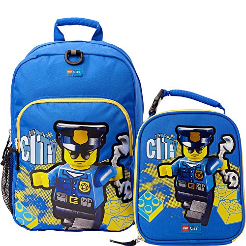 LEGO City Police Backpack & Lunch (Blue)