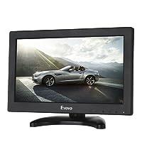 Eyoyo Moniteur 12 pouces 16 : 9 Écran TFT LCD HDMI HD Résolution à 1366 x 768 avec Entrée HDMI VGA BNC AV pour PC CCTV et Caméra Surveillance (Ecran 12 pouces 16:9 sans Télécommande)