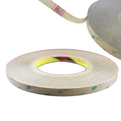 7949baa938a Rextin 50M Meters 10MM 3M Double Sided Tape Adhesive stronger stick for  5050 5630 SMD LED Strip Lights (10mm tape strong adhesive) - - Amazon.com