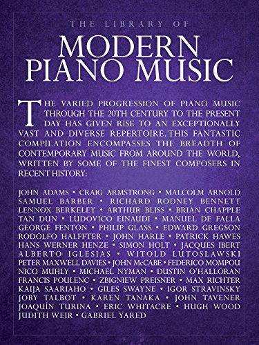 The Library of Modern Piano Music (Music Amsco)