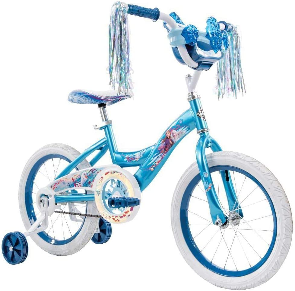 Huffy Disney Frozen 2 Bicicleta 16 Pulgadas: Amazon.es: Deportes y ...