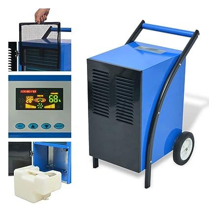 Zora Walter Deshumidificador 50 L/24 h 860 W Compresor rotativo Ventilador axial con un