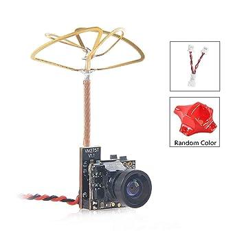 Crazepony-UK Tiny Whoop FPV Micro cámara AIO Camera 120 grados 5.8G Transmisor de