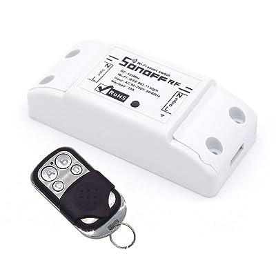 Aihasd RF-WiFi inalámbrico conmutador inteligente Con el regulador alejado del receptor de 433MHz RF Para Smart Home