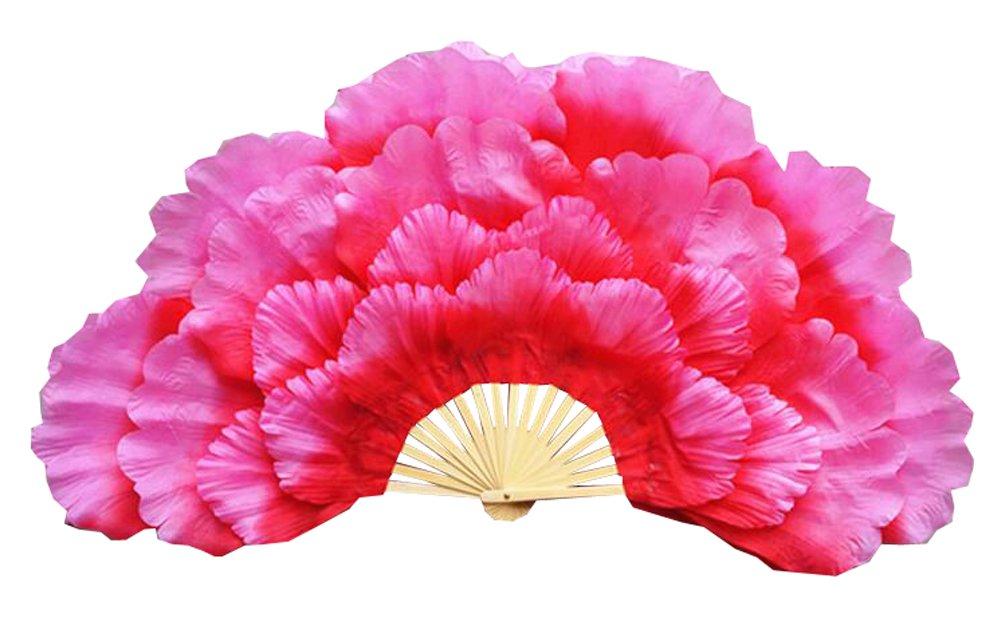 Blancho Bedding Children Dance Prop Fan/Dancing Fan/Yangge Dance Fan/Kindergarten Performance Fan(Pink)