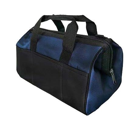 Tool Organizers Oxford Cloth Waterproof Tool Bag Electrician Plumber Portable Screws Drill Bit Storage Pouch Hand Repair Tool Organizer Case Kit