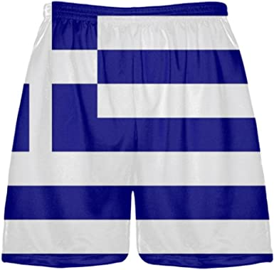 Youth Black Maryland Flag Lacrosse Shorts Sublimated Maryland Flag Shorts Youth Black