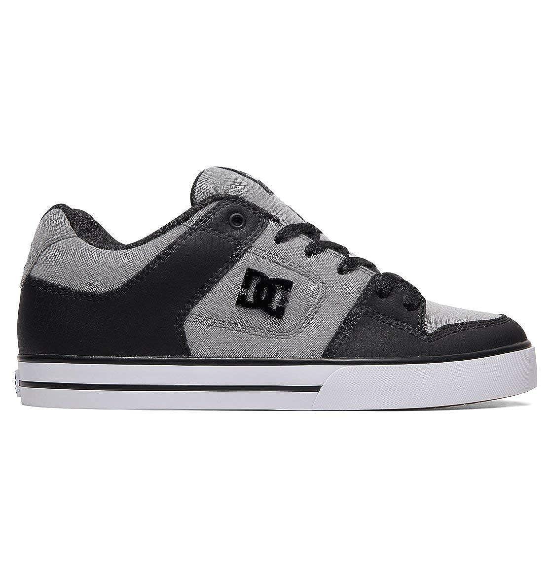 DC Mens Pure SE Skate Shoe Grey 10 M US
