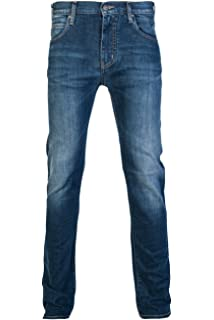Armani Jeans - Vaquero - Ajustada - para Hombre Azul Denim ...
