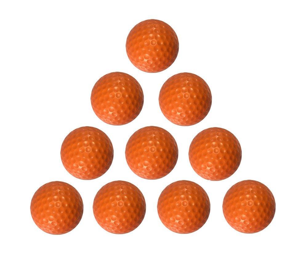(Harlan )20pcs, Practice Golf Balls, Foam Sponge Soft Elastic Golf Balls,Orange