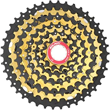 BIKERISK MTB Bike Gold Cassette 10S 30 Speed 11-42T Piñones ...