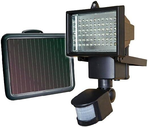 114 LED Solarleuchte Licht mit Bewegungsmelder Garten Solarstrahler Außen Lampe