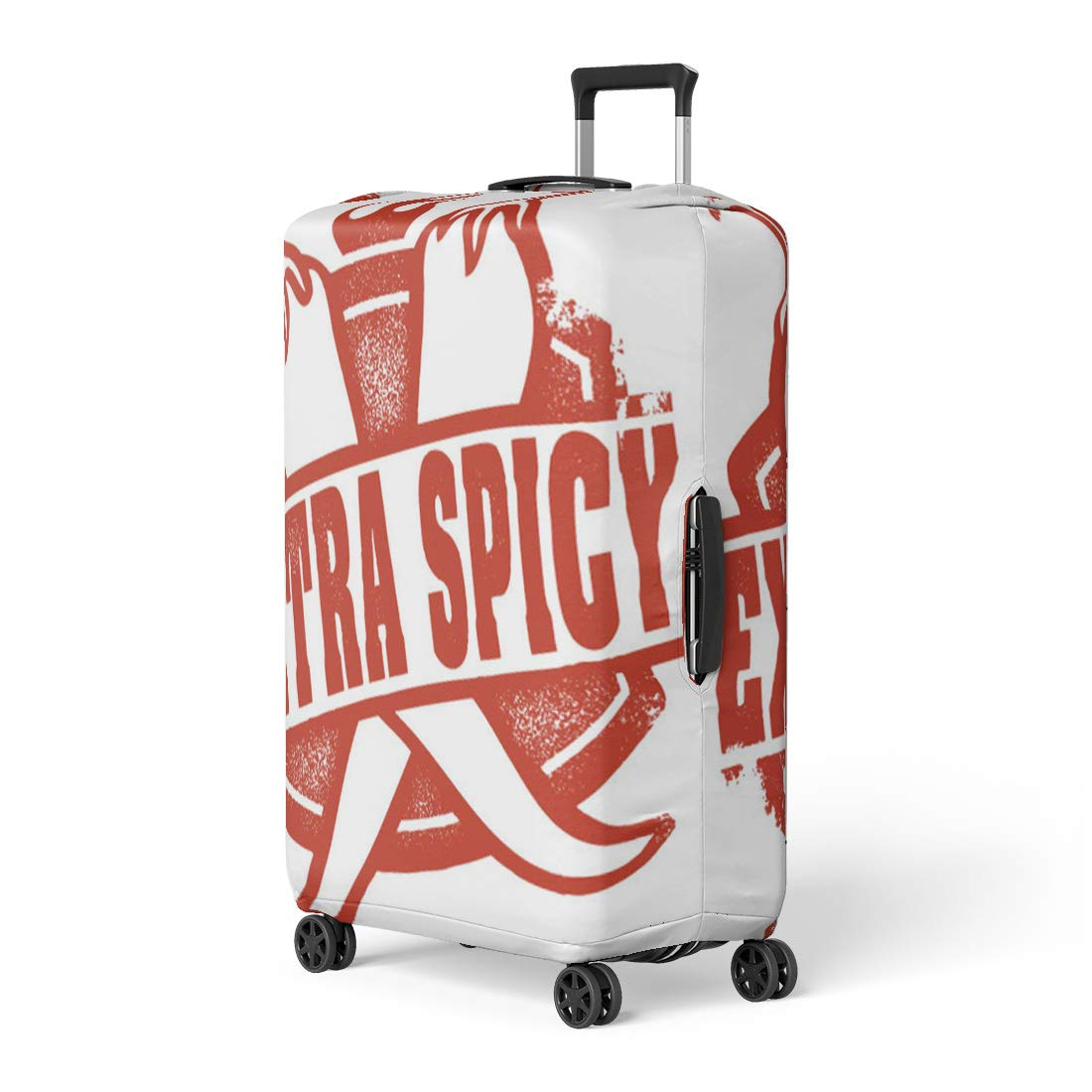 6a2d2da9a5b3 Amazon.com: Pinbeam Luggage Cover Hot Extra Spicy Chili Pepper Stamp ...
