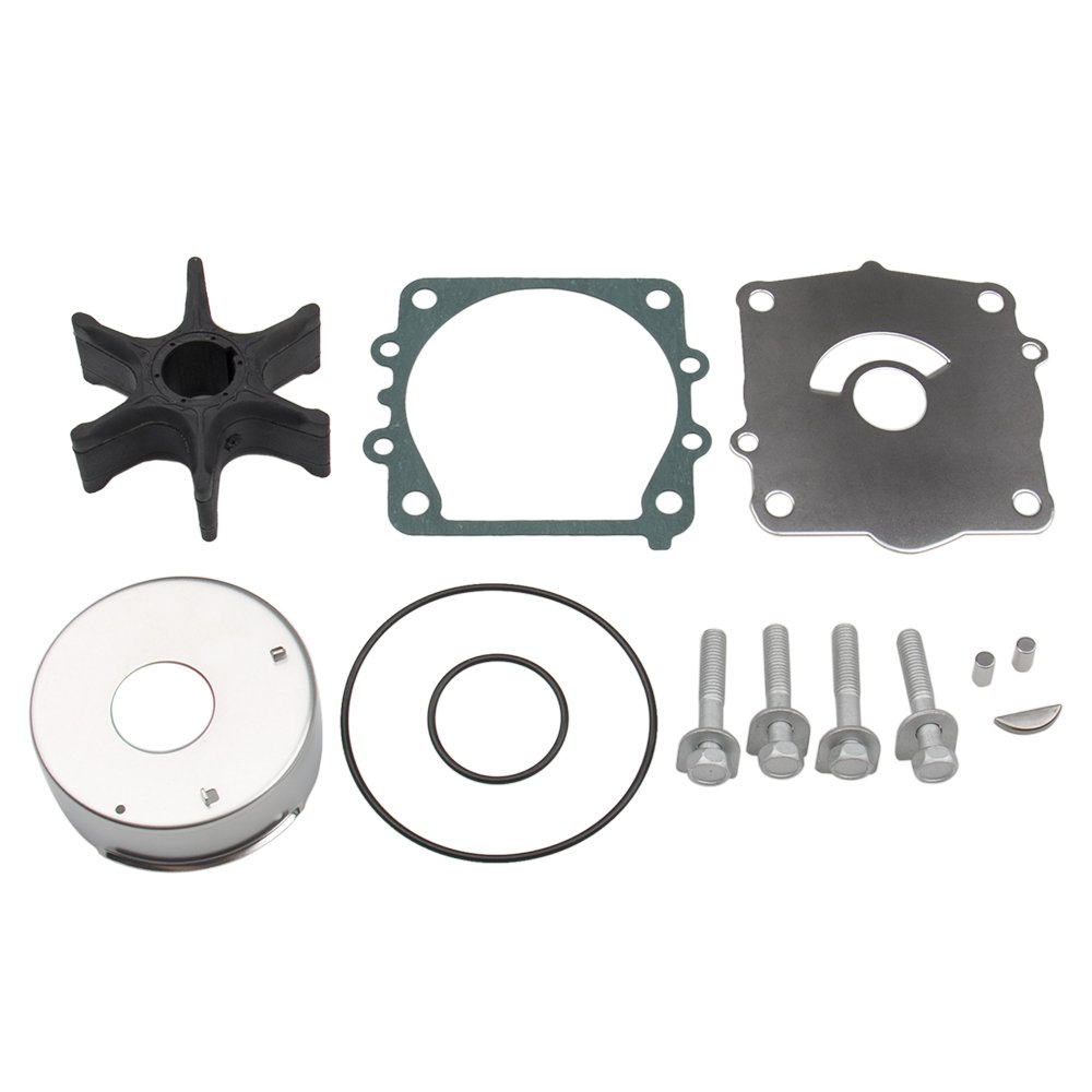 Big-Autoparts Water Pump Impeller Kit for Yamaha (115 HP F115 LF115) 18-3442 Replace 68V-W0078-00-00