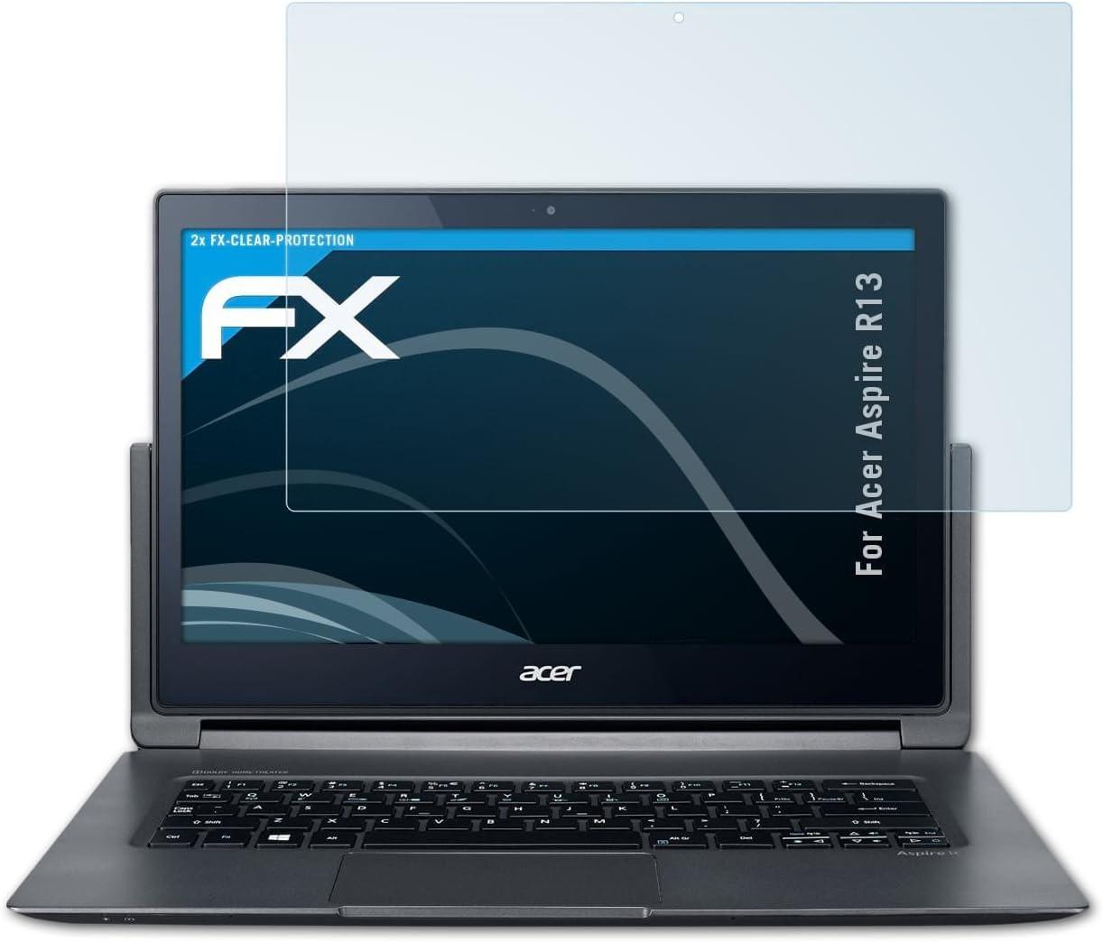 2X Rev/êtement antireflet HD FX Protection d/écran atFoliX Film Protecteur pour Acer Aspire Switch 10 E SW3-013 Film Protection d/écran