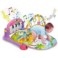 Ginásio com Tapete de Atividades Bebê Som e Luz - Piano