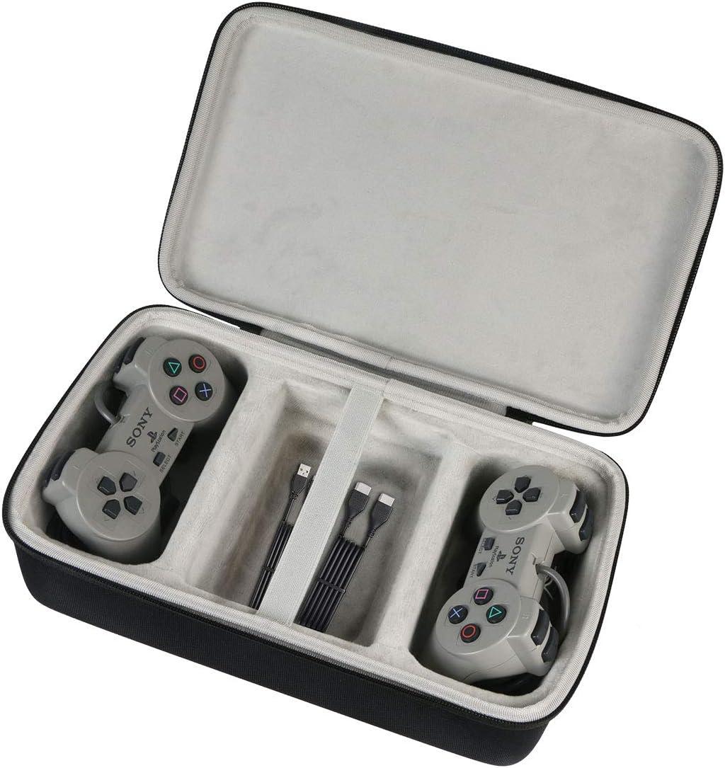 Khanka Duro Viaje Estuche Bolso Funda para Sony PlayStation Consola Classic