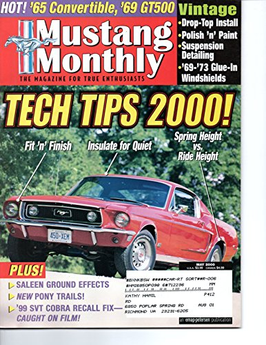 Mustang Monthly Magazine, May 2000 (Vol. 23, No. 5)
