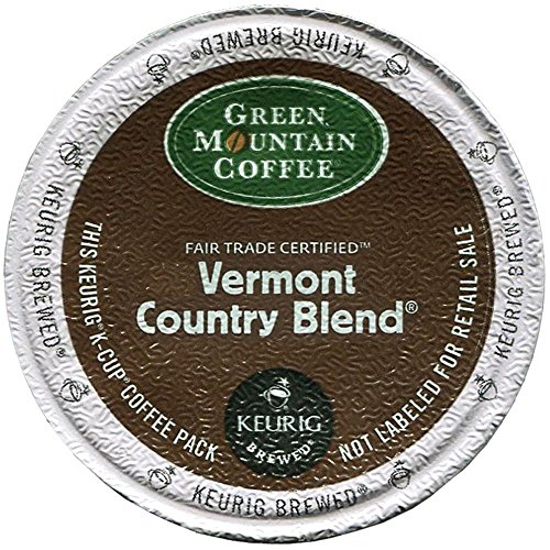 K-cups Country Blend Vermont (Green Mountain Coffee Keurig Vermont Country Blend K-Cups 24 Ct)