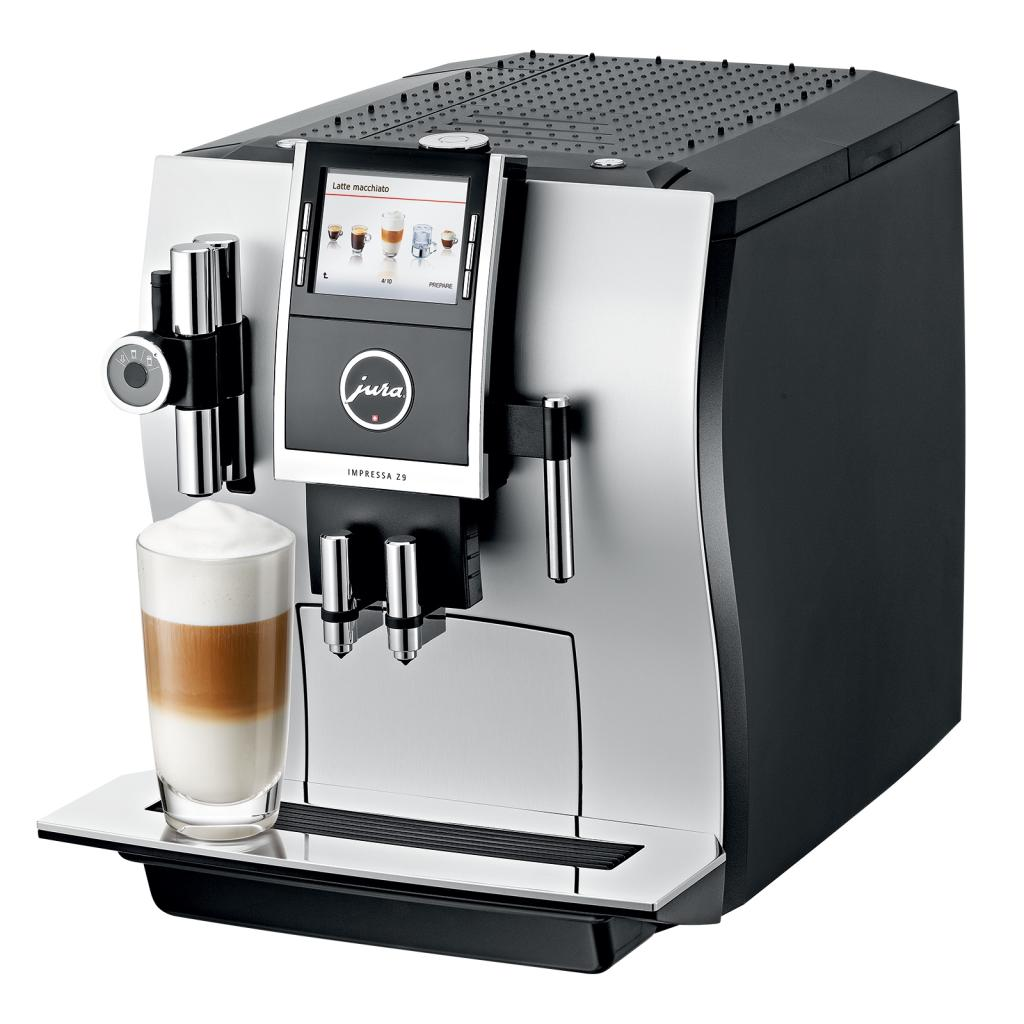 jura impressa z9 one touch tft coffee machine aluminium. Black Bedroom Furniture Sets. Home Design Ideas