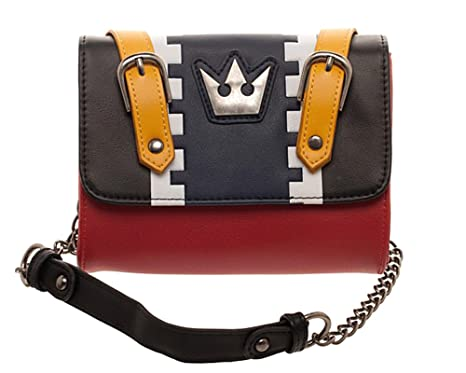 85cfc1c958e Image Unavailable. Image not available for. Color  Kingdom Hearts Sora  Cosplay Sidekick Purse