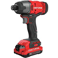 Craftsman 20-Volt Max 1/4-in Variable Speed Cordless Impact Driver Deals