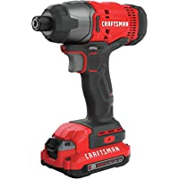Deals on Craftsman V20 20v Cordless Brushed Compact Impact Driver Kit