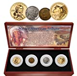 1800 Native American Tribute Set None