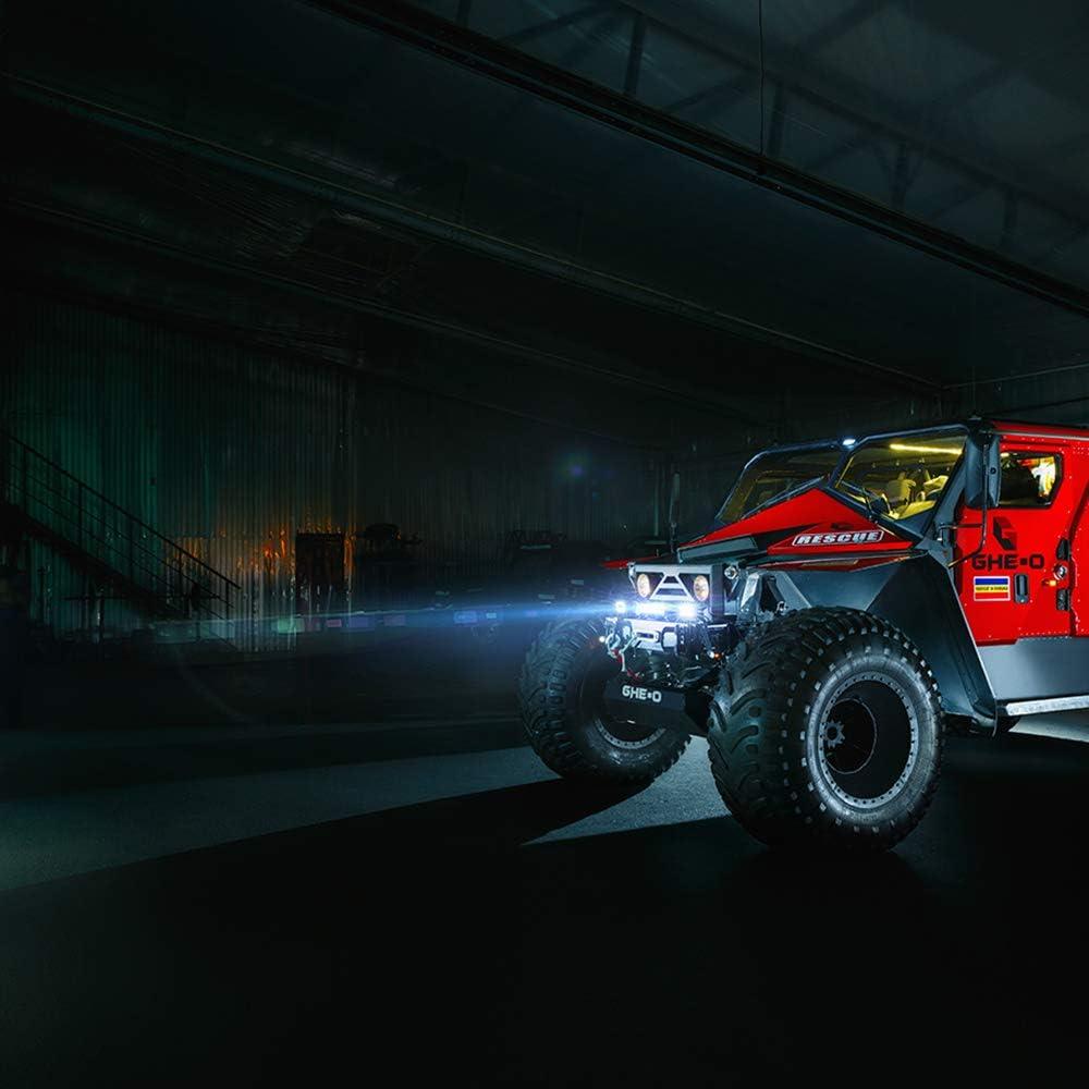 2 St/ück Froadp 18W LED Arbeitsscheinwerfer Quadrat Offroad Flutlicht Zusatzscheinwerfer 12V//24V R/ückfahrscheinwerfer Arbeitslicht IP67 f/ür SUV UTV ATV