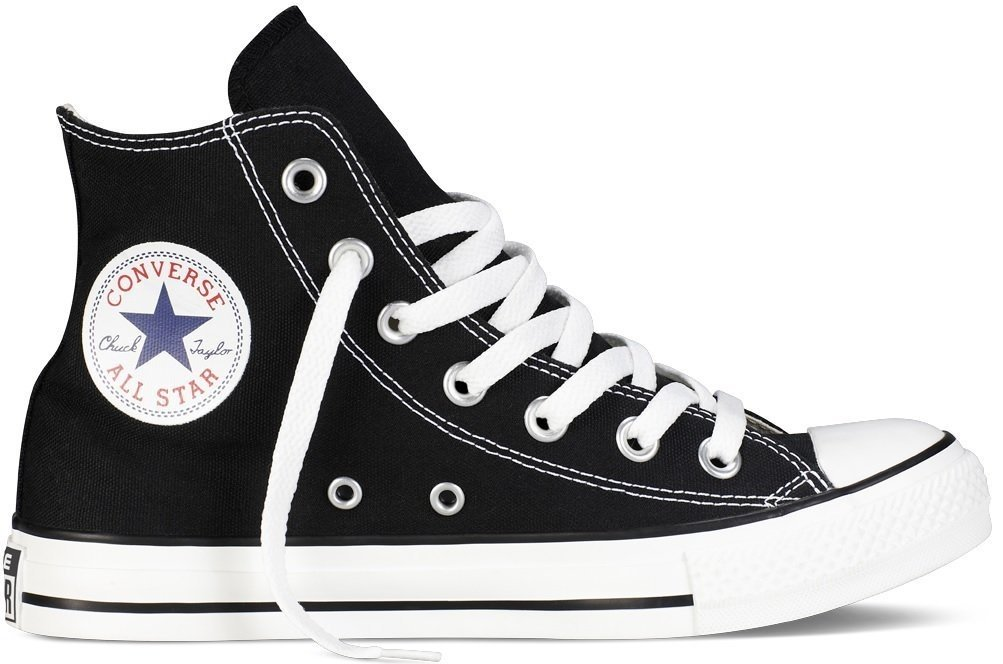 Converse Chuck Taylor All Star Classic High Top Sneakers - Black US Men 7/US Women 9