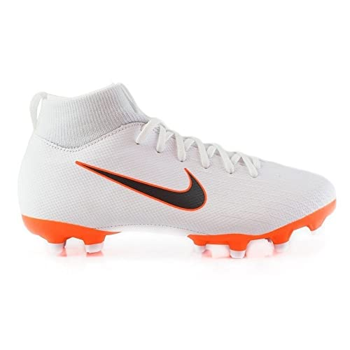 Nike Mercurial Superfly Vi Academy MG, Zapatillas de Fútbol para Hombre, Blanco (White/Chrome-Total O 107), 39 EU