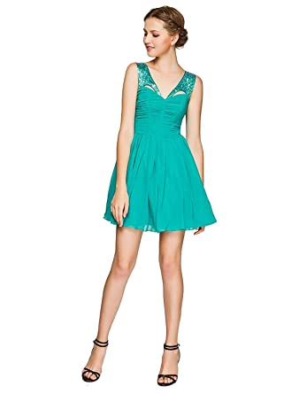 Lipsy Jade Sequin Harness Prom Dress (UK 10)