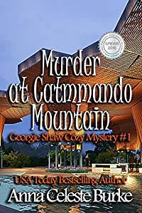Murder At Catmmando  by Anna Celeste Burke ebook deal