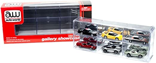 Auto World 1:18 13 5//8/'/' x 6 1//2/'/' x 5 1//4/'/' Prestige Display Case Kit #DC001