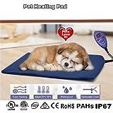Cozywind Mascota Almohadilla Eléctrica Alfombrillas de Calefacción para Perros y Gato…
