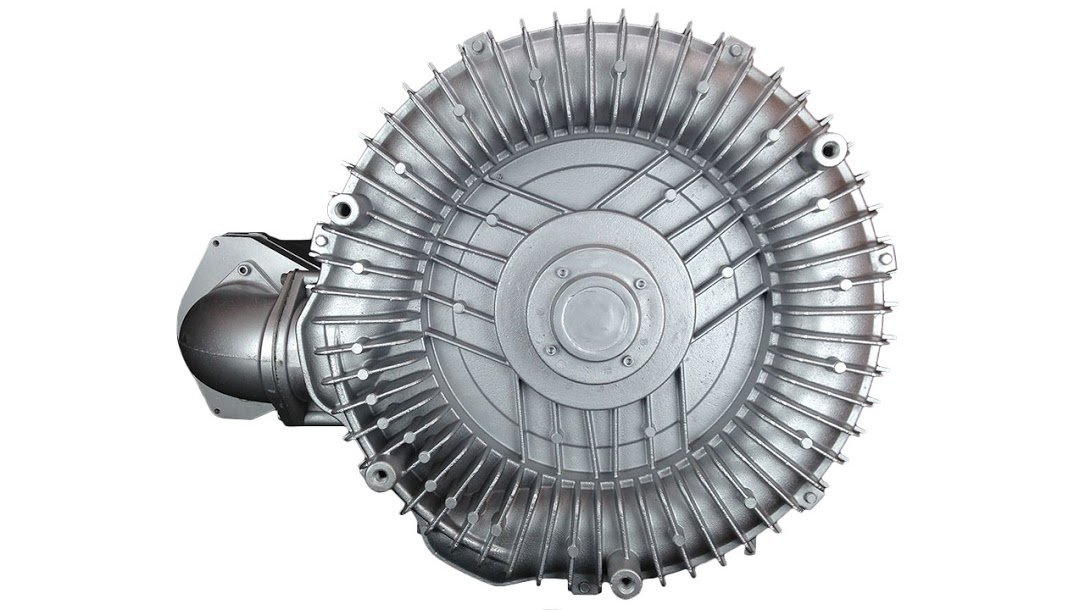 air-3219: 40.00hp tres fase 230/460vac - regeneración del ventilador: Max flow: 812 CFM, Max Prensa: + 185