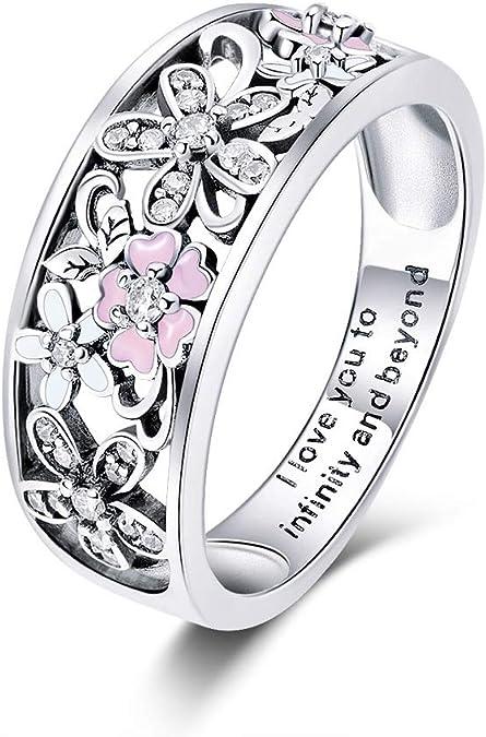 Gemmart Handmade Women Silver Ring Size 6 7 8 9 10 11 womens engagement rings fashion rings