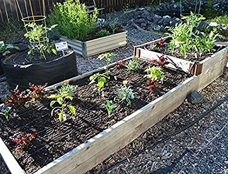 Small 5 Pack DripWorks Garden Bed Irrigation Kit
