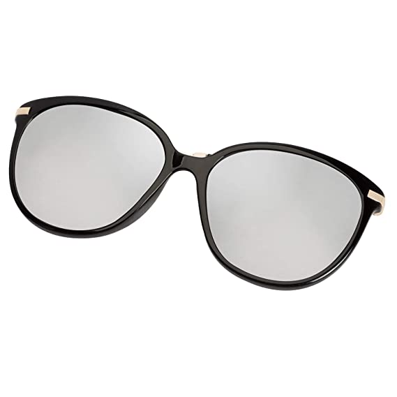 d83cc2a752d44 Diamond Candy Women s Sunglasses UV Protection Polarized eye glasses  Goggles UV400 43blacksilver  Amazon.in  Clothing   Accessories