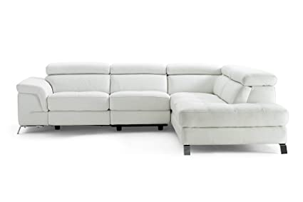 Amazon.com: HomeRoots Muebles Seccional, Chaise On Right ...