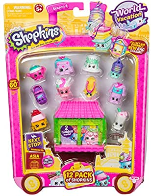 Shopkins Season 8 W2 Asia Toy 12 Pack from Moose Toys Import