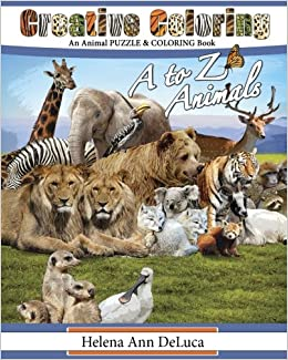 Creative Coloring A To Z Animals An Animal Puzzle