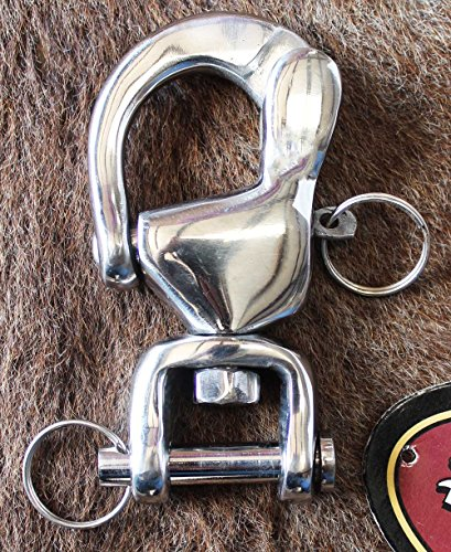 Horse Farrier Tool Quick Release Hook/Snap Shackles Horse Harness Trace to Carriage with Bigger Nut 98496D
