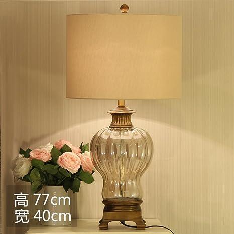 HCP Vintage lampade di cristallo europea/lampada da comodino camera ...