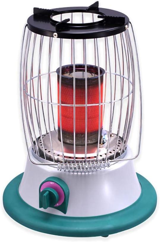 DDLL Acampar Calentador, portátil Calor Calentadores de Gas propano con el regulador de Gas, Sao hipoxia Protección Apagado, 2-3m Calefacción Distancia, de Baja energía, Gas Calentador de Patio