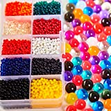 Image of Funny Water Beads, 3.5 Ounce, Water Gel Beads Pearls for Vase Filler, Water Bead Bracelet for Wedding Centerpiece, Home Decoration, Plants, Toys